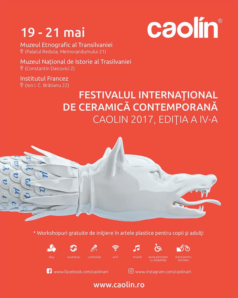 """Festivalul Internațional de Ceramică Contemporană """"Caolin"""""""