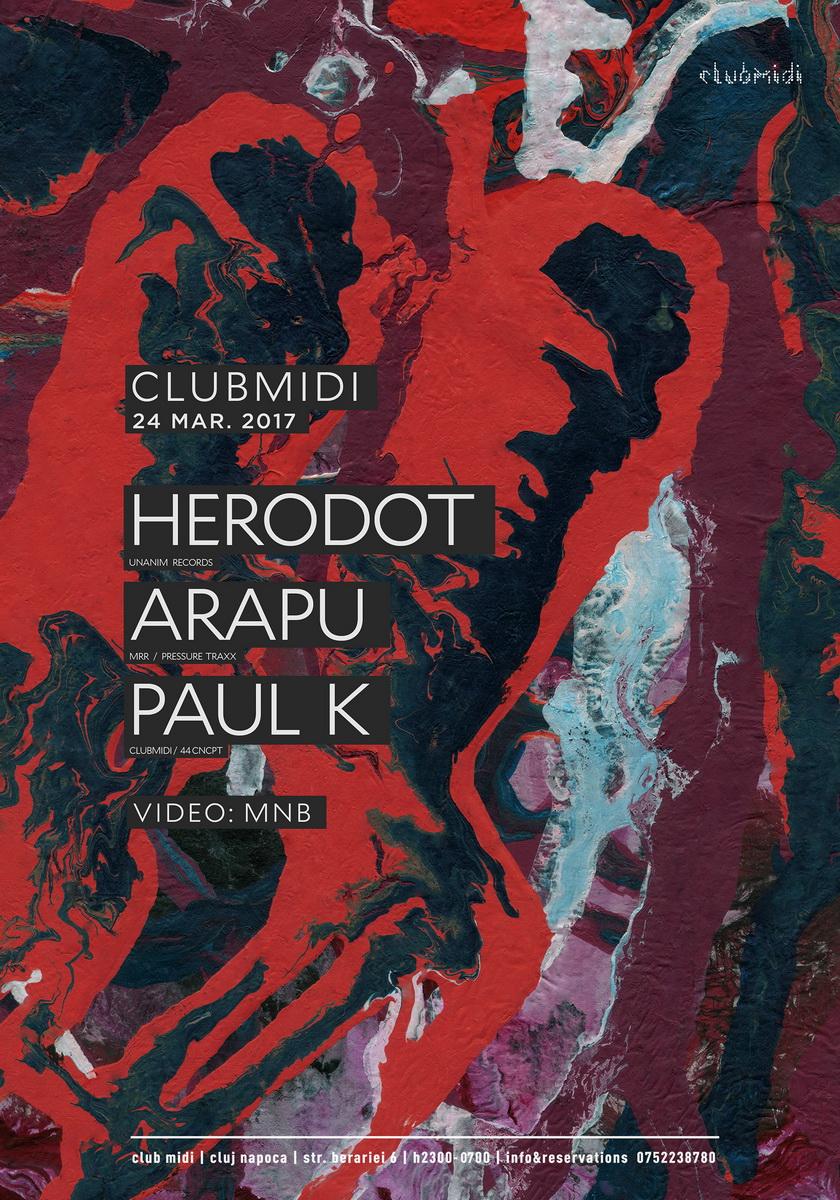Herodot / Arapu / Paul K @ Club Midi