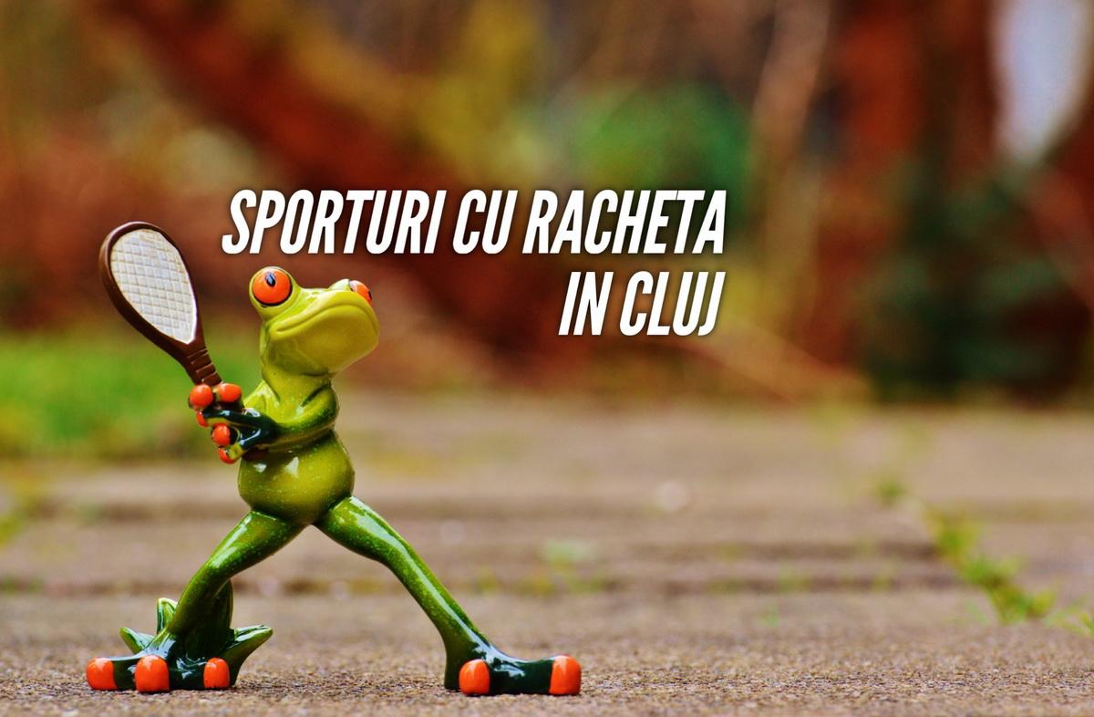 Sporturi cu racheta și unde le poți practica în Cluj