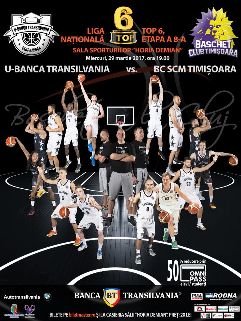 U-Banca Transilvania – BC SCM Timisoara