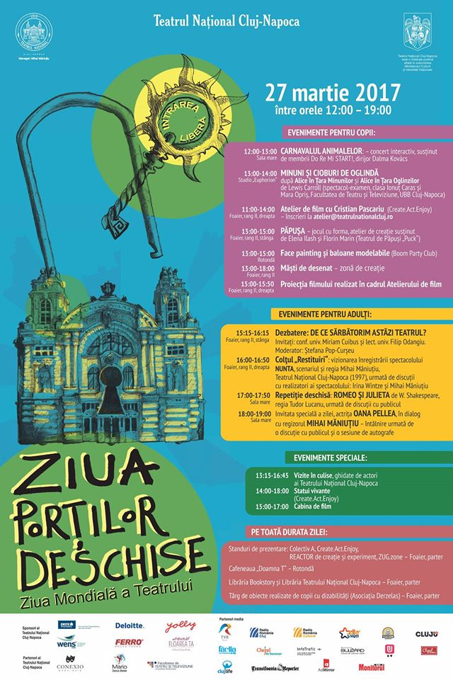 Ziua Porților Deschise @ Teatrul Național