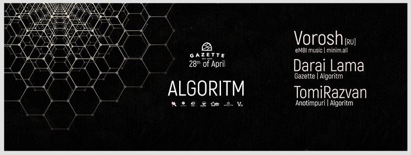 Algoritm @ Gazette