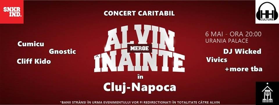 Alvin merge înainte @ Urania Palace