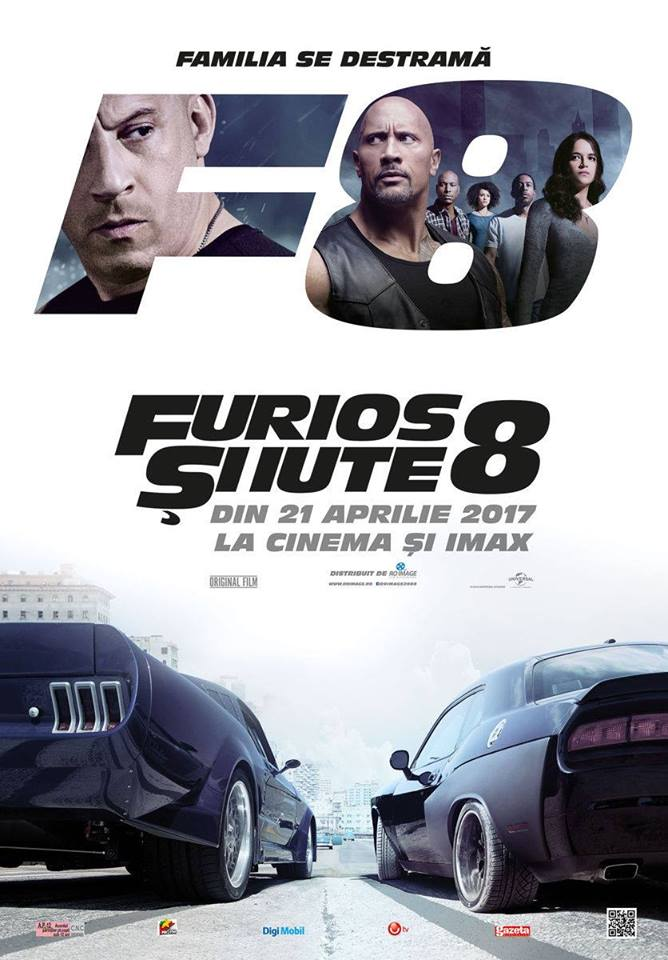 Fast & Furious 8 @ Cinema Florin Piersic