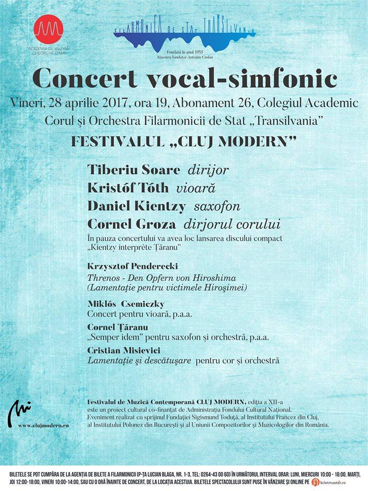 Festivalul Cluj Modern @ Auditorium Maximum