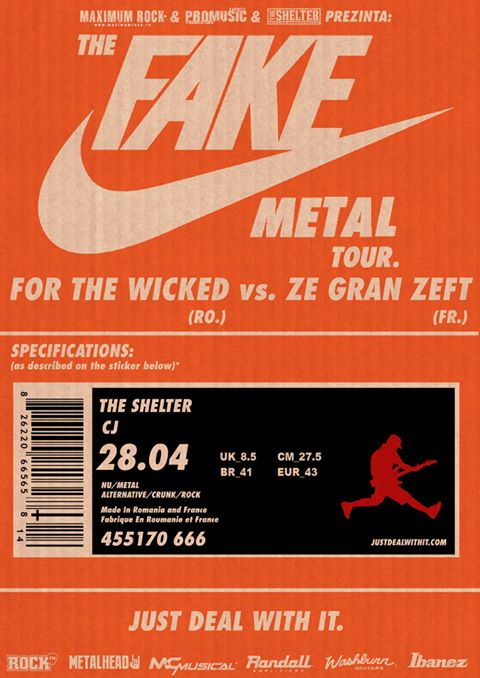 For The Wicked vs Ze Gran Zeft @ The Shelter