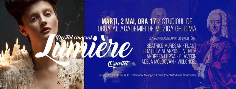 Lumiére Quartet @ Academia de Muzică Gheorghe Dima