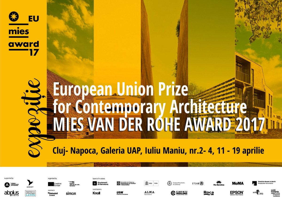The European Union Prize for Contemporary Architecture – Mies van der Rohe Award 2017