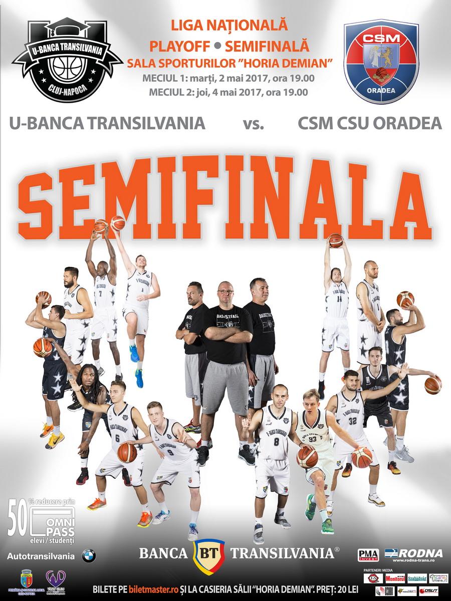 U-Banca Transilvania VS  CSM CSU Oradea