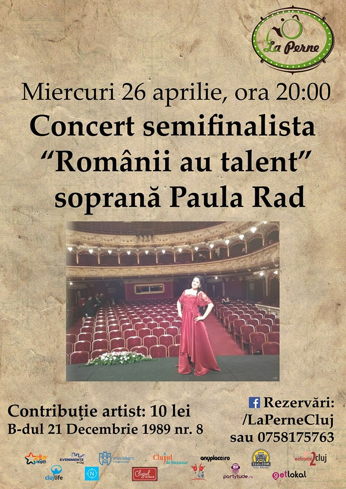 Paula Rad @ La Perne