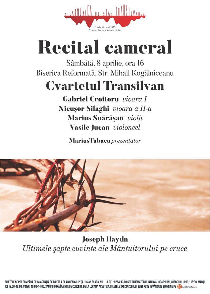 Recital cameral @ Biserica Reformată Centrală