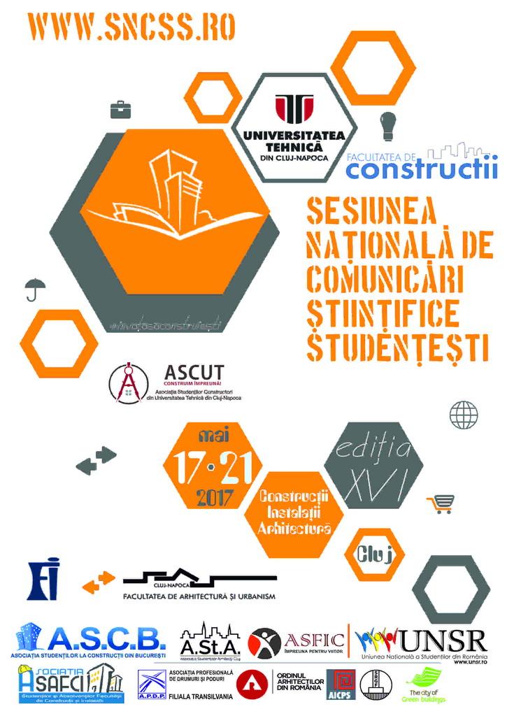 Sesiunea Națională de Comunicări Științifice Studențești