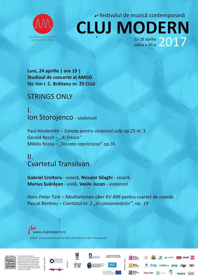 Strings Only @ Academia de Muzică Gheorghe Dima