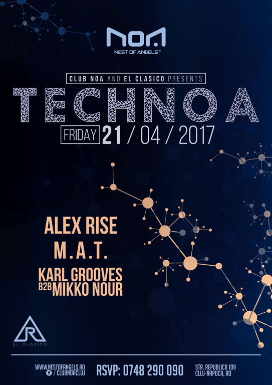 Technoa @ Club NOA