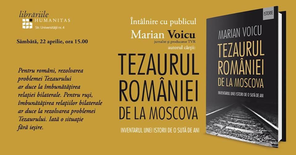 Tezaurul României de la Moscova @ Librăria Humanitas