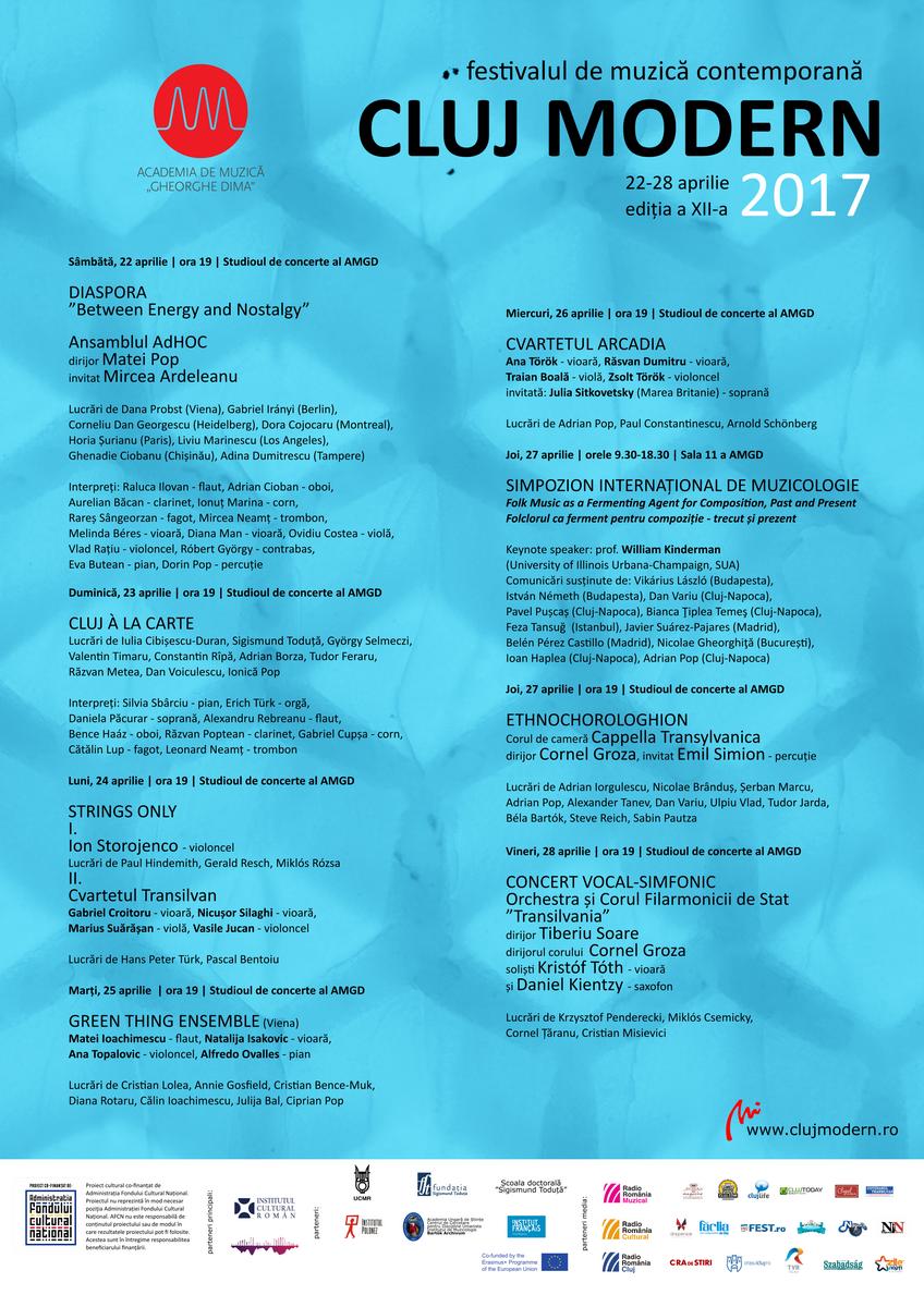 Festivalul Cluj Modern 2017