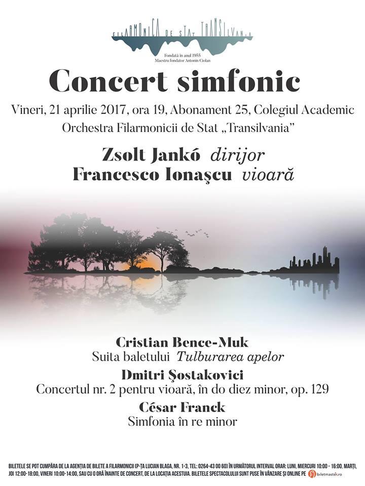 Concert simfonic – dirijor Zsolt Jankó
