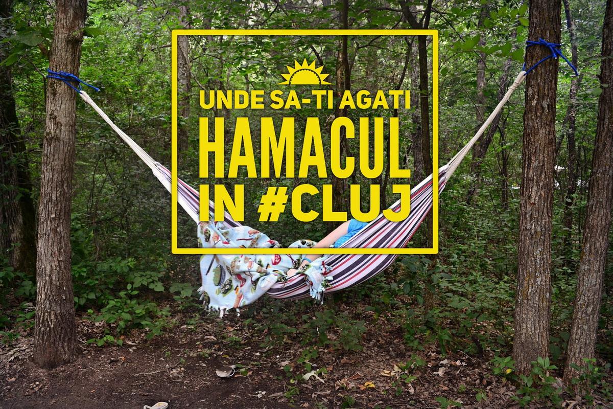 7 locații din Cluj unde să lenevești în hamac