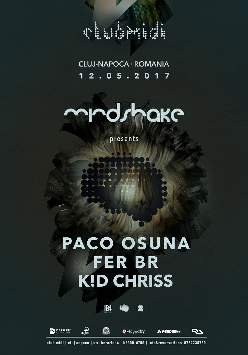 Paco Osuna / Fer Br / K!D Chriss @ Club Midi