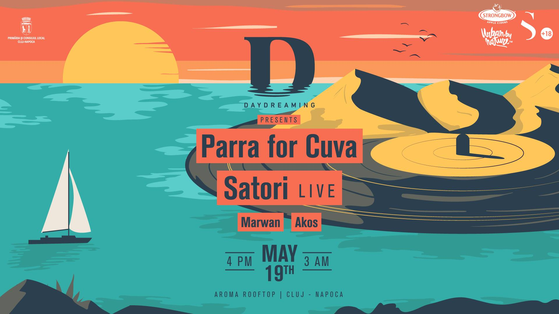 Rooftop Daydreaming x Parra for Cuva x Satori Live
