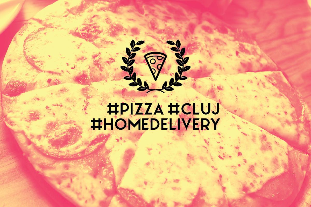#HomeDelivery: Cea mai bună pizza din Cluj pe care o poți comanda acasă