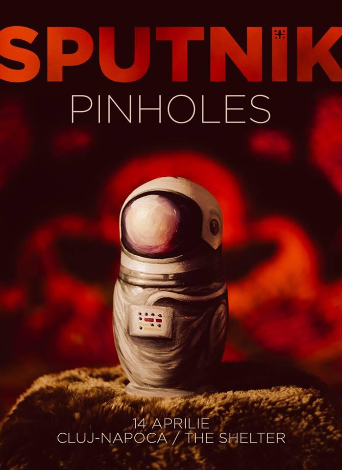 Pinholes – Lansare Sputnik EP @ The Shelter