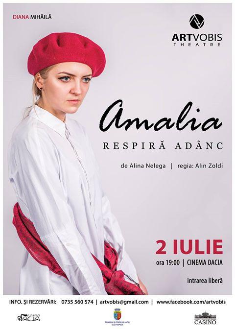 Amalia respiră adânc @ Cinema Dacia