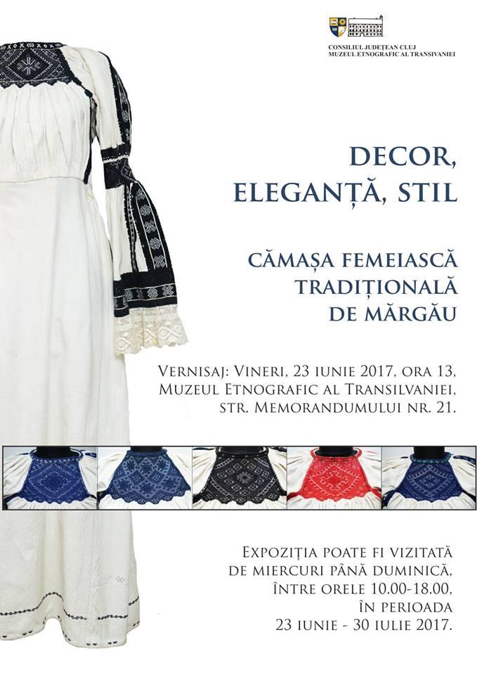 Cămașa de Mărgău @ Muzeul Etnografic al Transilvaniei