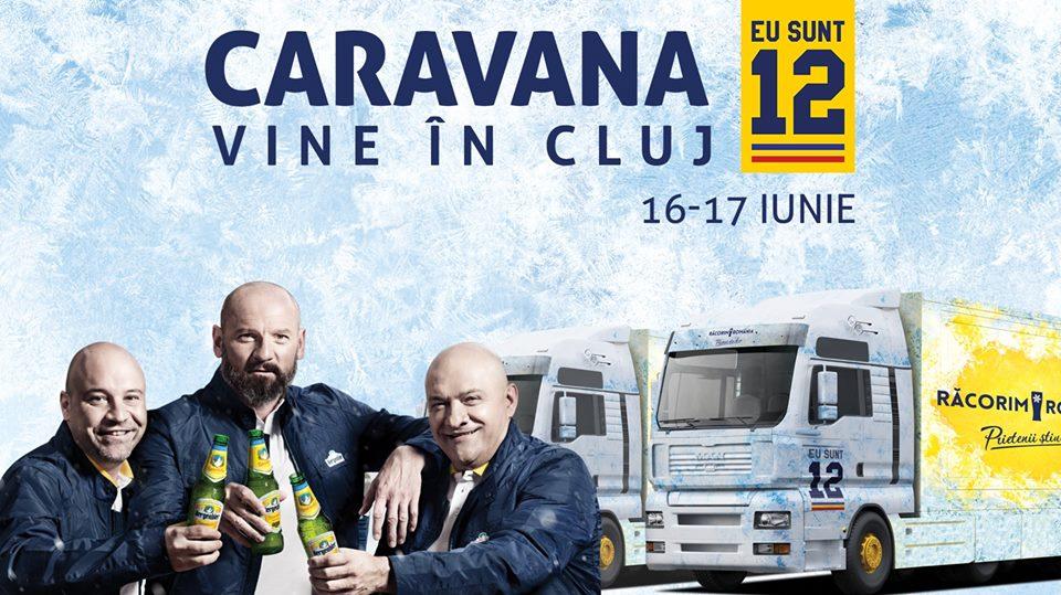 Caravana Eu Sunt 12 @ Cluj Arena