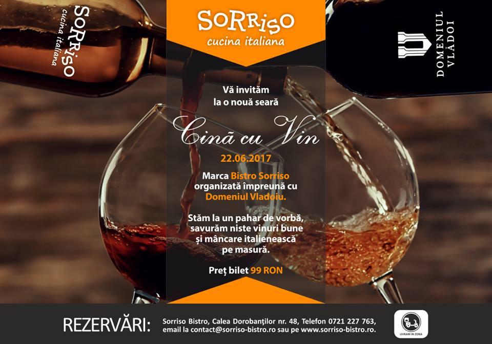 Cină cu vin @ Bistro Sorriso