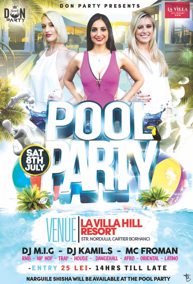 Don Pool Party @ La Villa Hill Resort