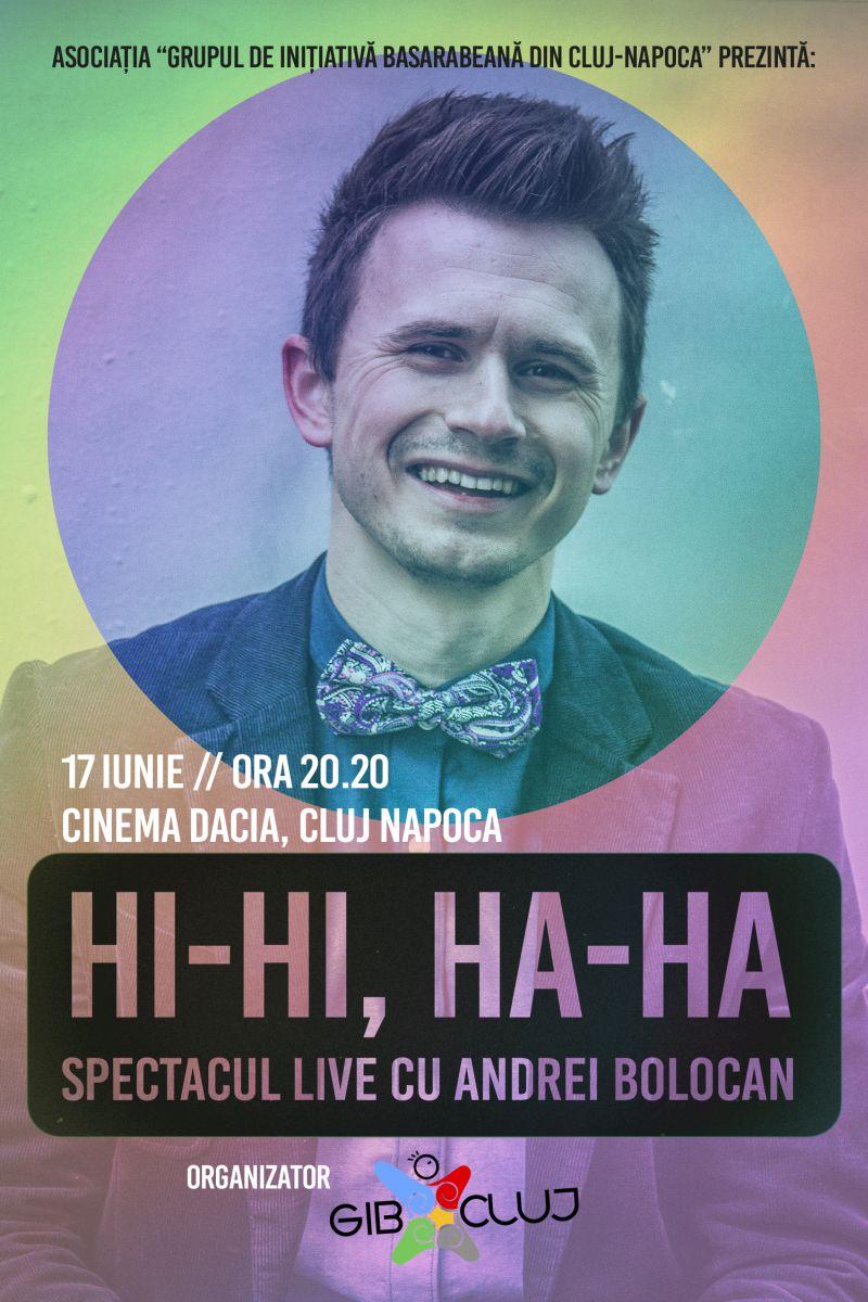 Hi-hi, ha-ha @ Cinema Dacia