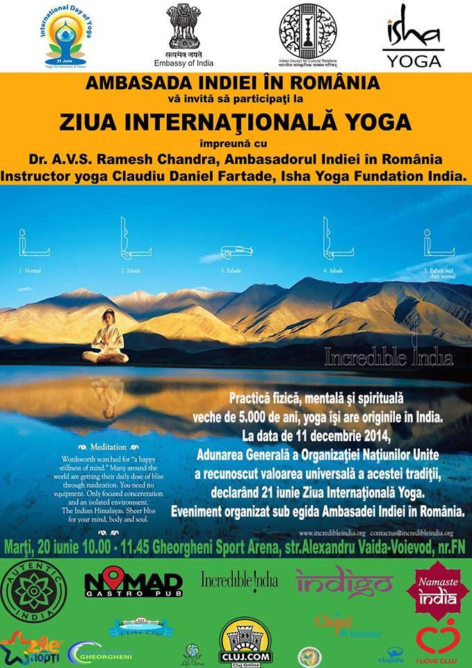 International Yoga Day @ Baza Sportivă Gheorgheni