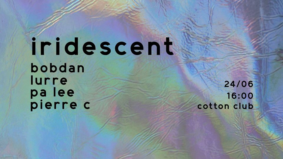 Iridescent @ Cotton Club