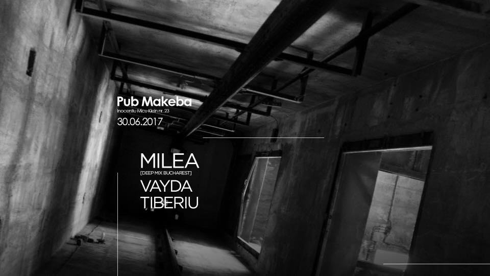 Milea, Tiberiu & Vayda @ Makeba Pub