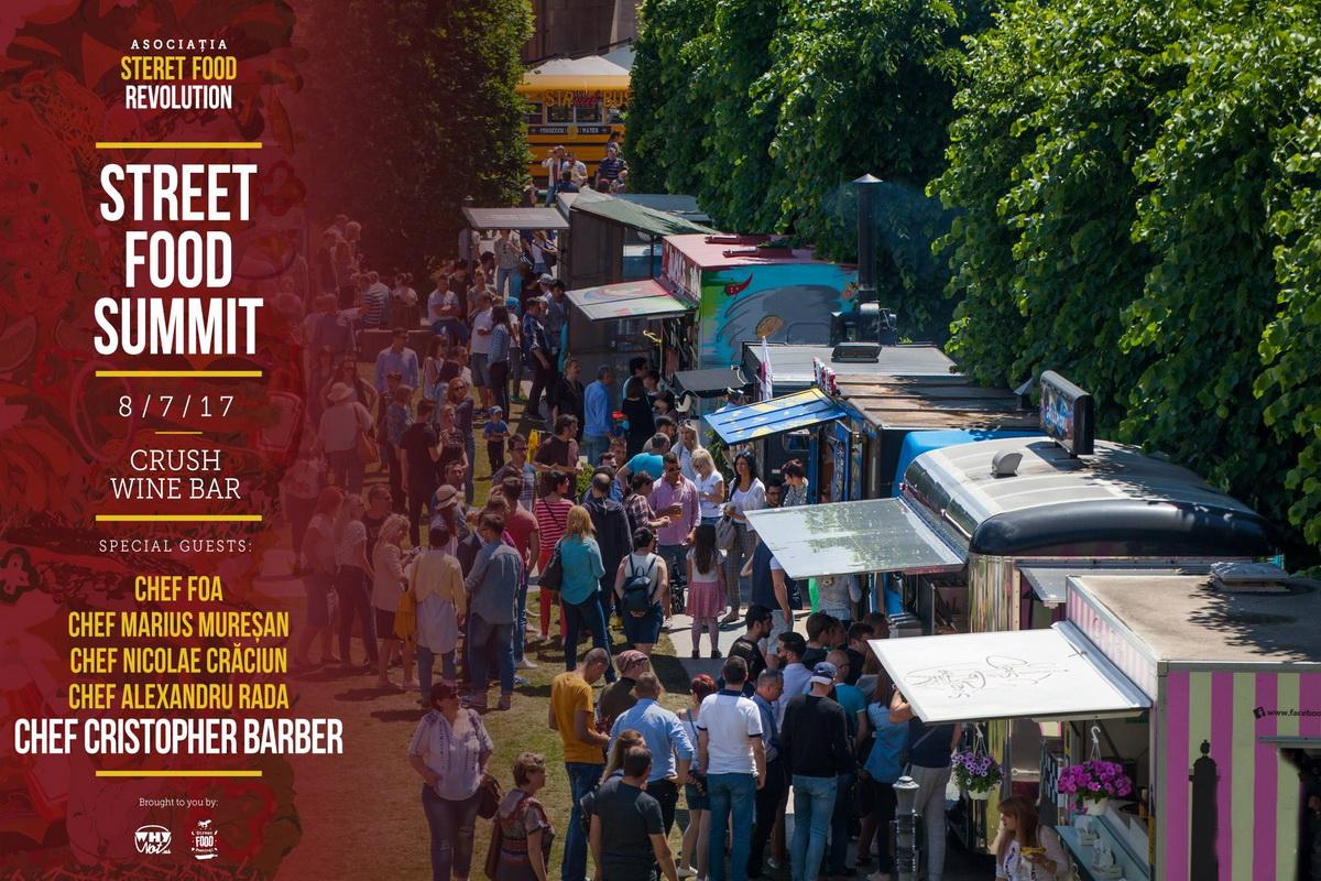 Primul Street Food Summit din România va avea loc la Cluj-Napoca