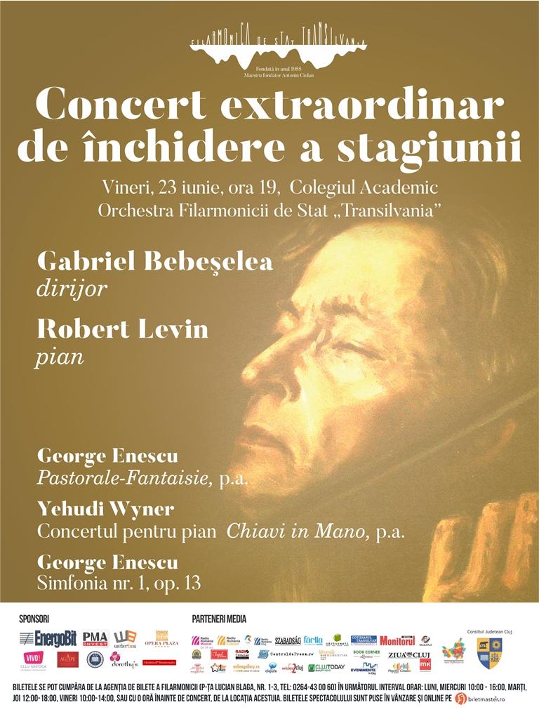 Concert extraordinar de închidere a stagiunii 2016-2017