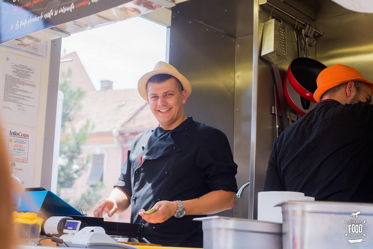 Interviu cu Chef Marius Mureşan, despre Street Food Festival