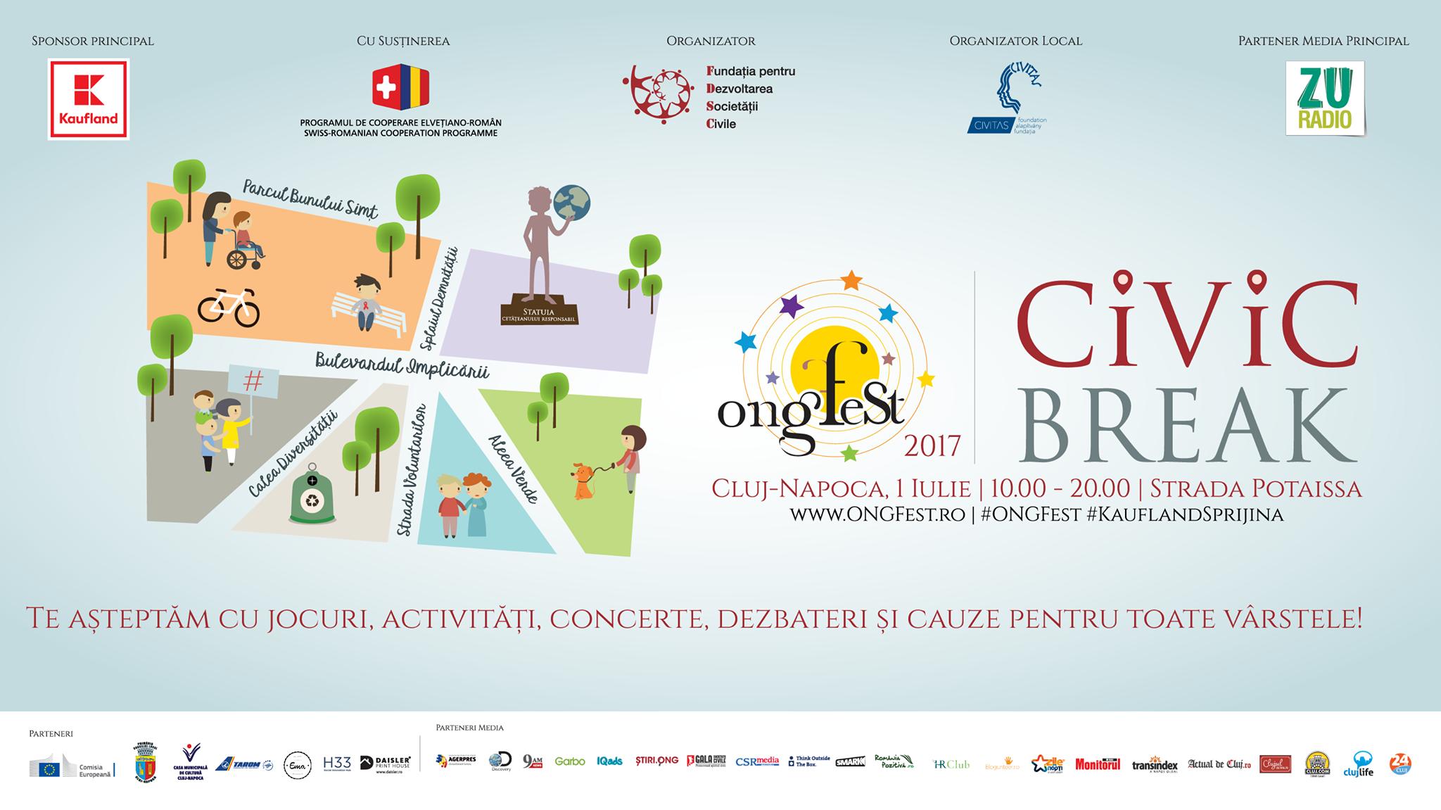 ONGFest Civic Break Cluj