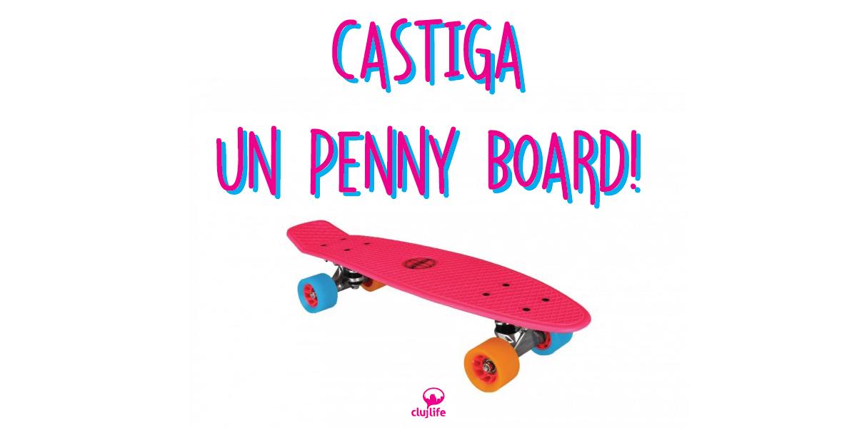 Cu penny board-ul prin Cluj