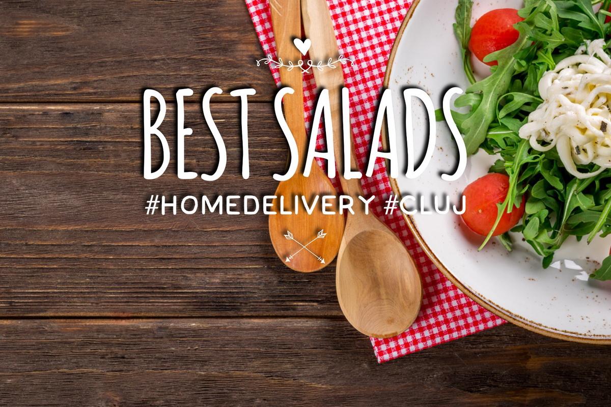 5 dintre cele mai bune salate pe care le poţi comanda acasă în Cluj