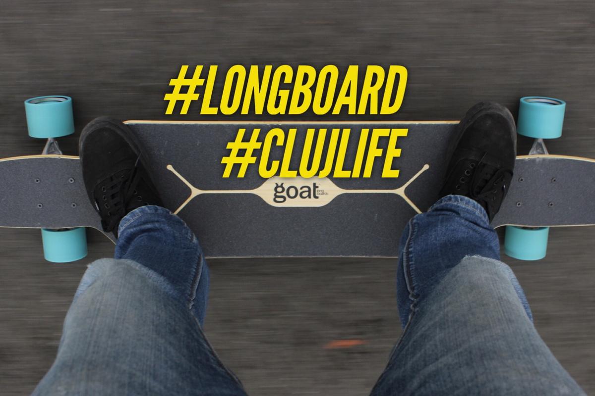 Cu longboard-ul prin Cluj