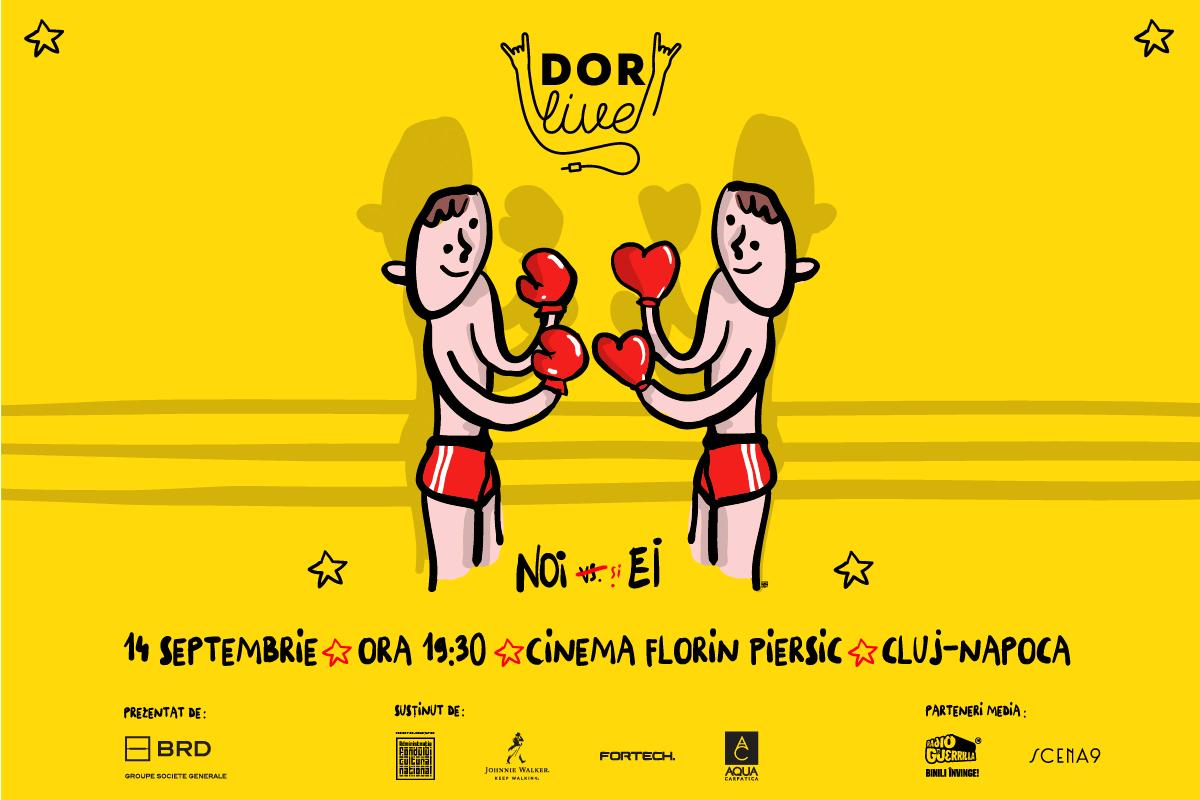 Revista-spectacol DoR Live vine la Cluj pe 14 septembrie