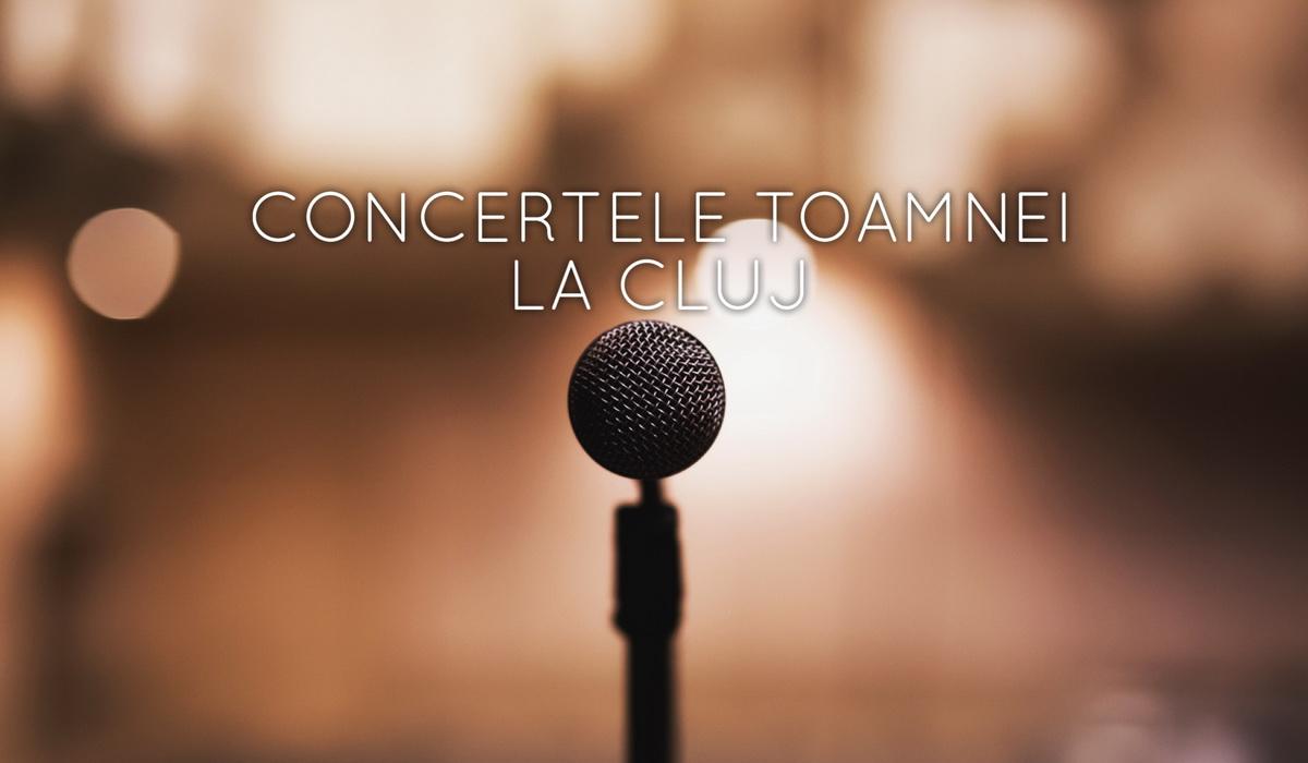 Cele mai așteptate concerte din această toamnă la Cluj