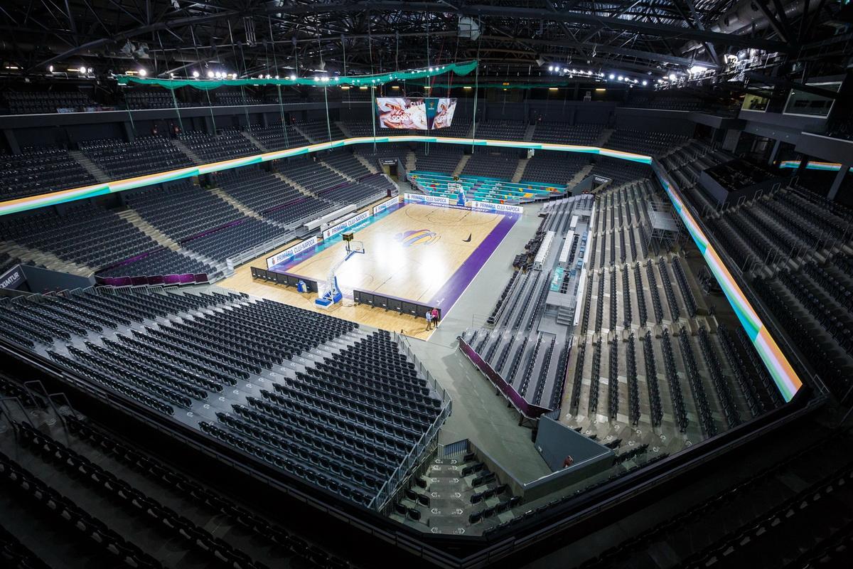 Sala Polivalentă din Cluj-Napoca, pregătită pentru EuroBasket 2017