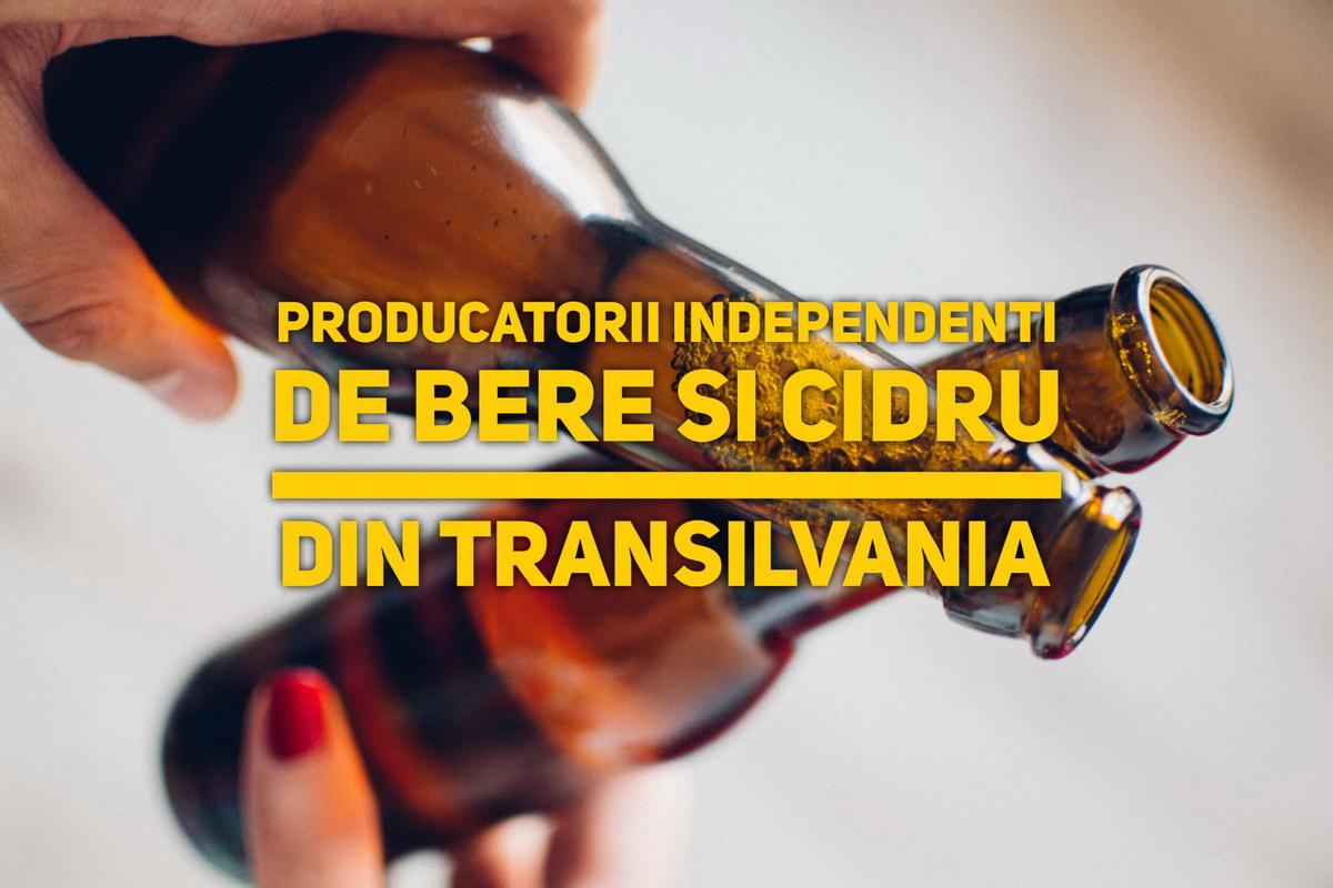 Producătorii independenți de bere și cidru din Transilvania