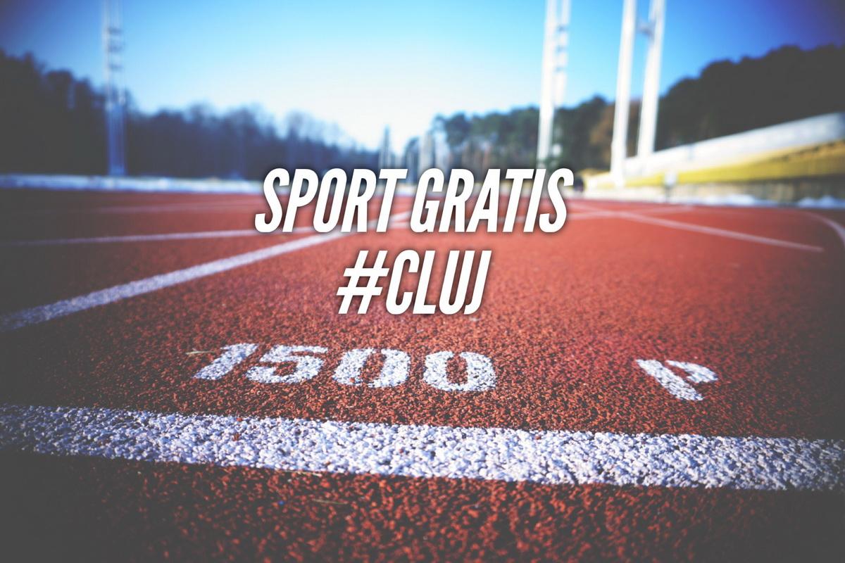 Unde poți face sport gratis în Cluj