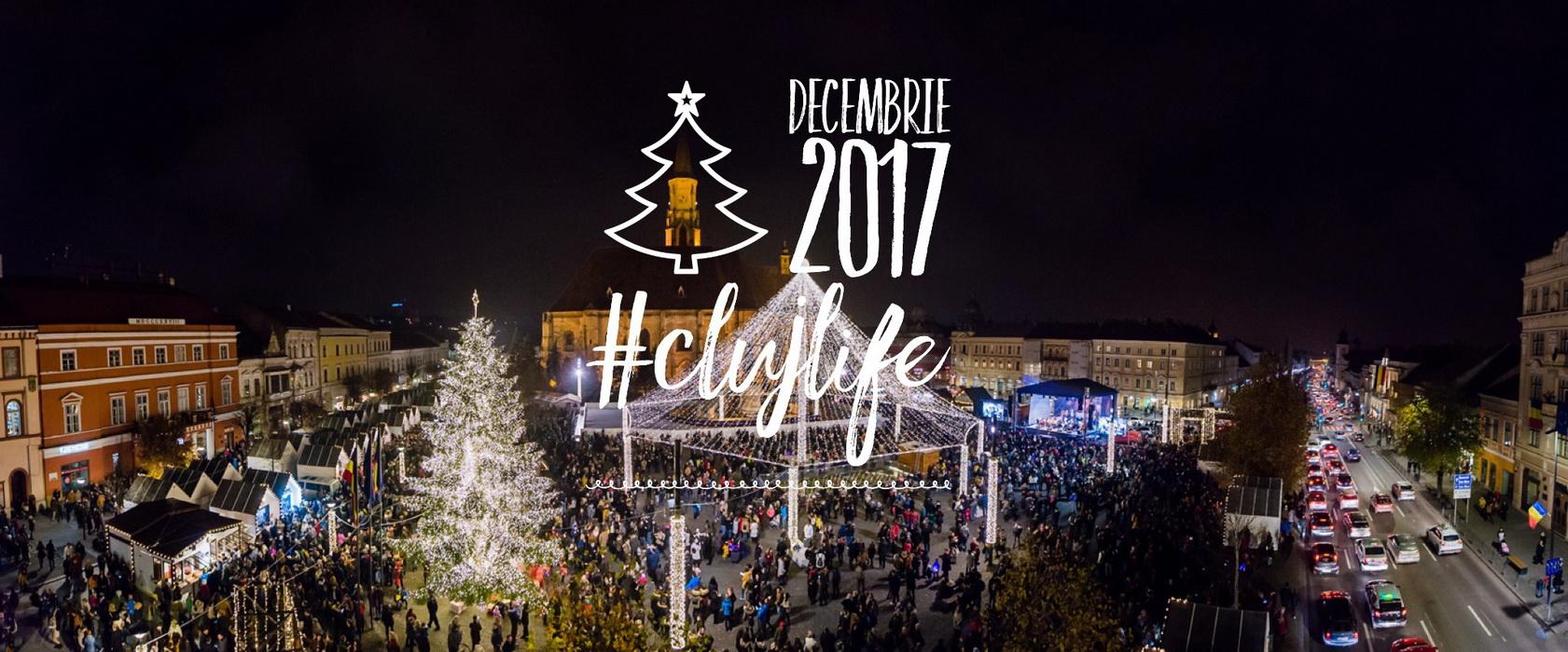 15 evenimente de neratat în decembrie la Cluj