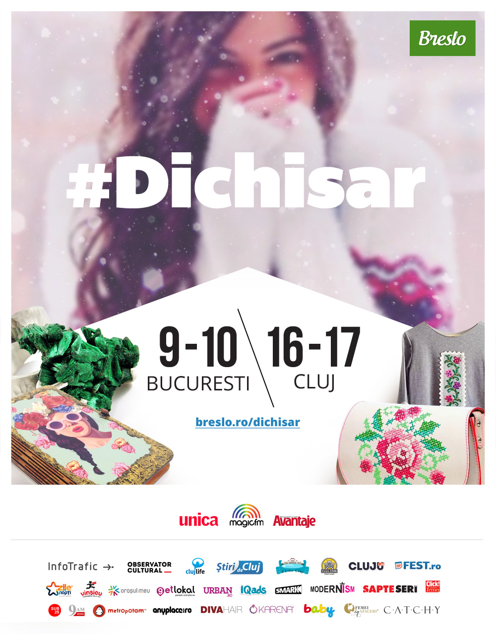 5 motive sa nu ratezi primul #Dichisar in Cluj
