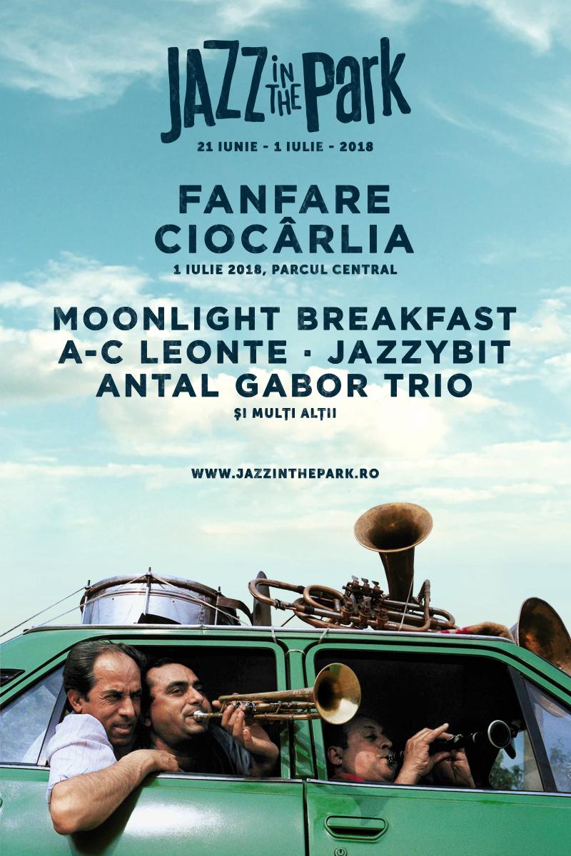 Fanfare Ciocârlia, primul headliner anunțat la Jazz in the Park 2018